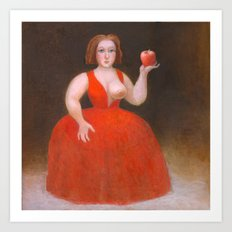 Apples. Art Print