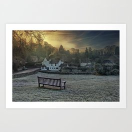 Loose Hill And Chequers Art Print