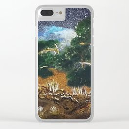 Mediterranean Night Clear iPhone Case