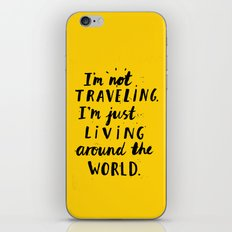 Living Around The World iPhone & iPod Skin