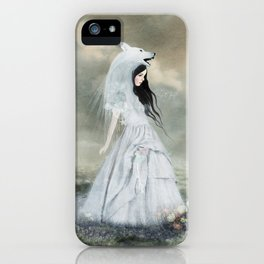 sympathy of wolves iPhone Case
