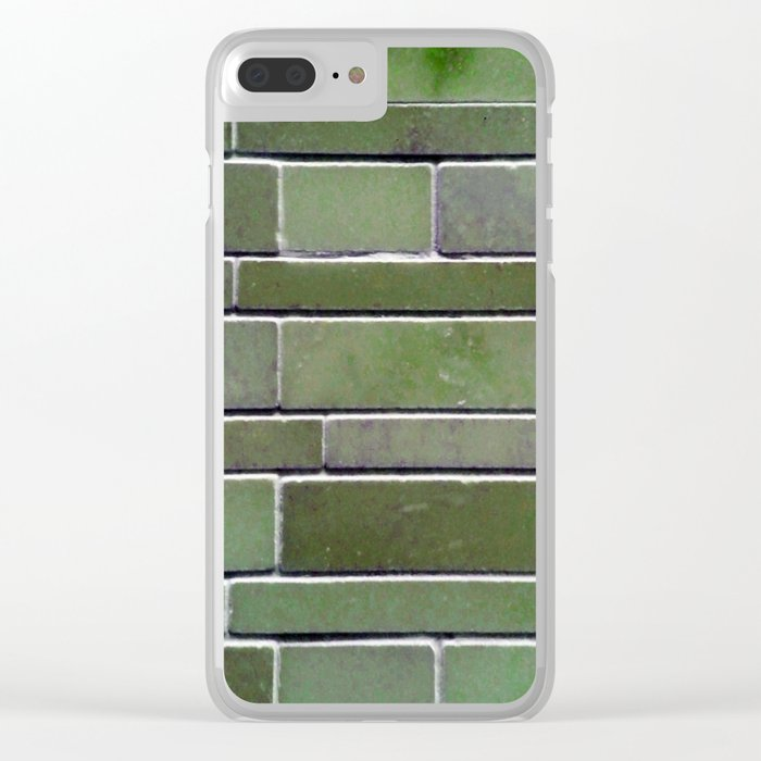 Stonewall Moss Clear iPhone Case