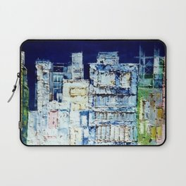 Suburban Buildings Laptop Sleeve