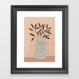 Odin Vase Framed Art Print