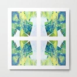 Leafy Outlook Metal Print