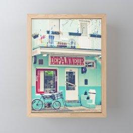 Montreal  - Dépanneur Framed Mini Art Print