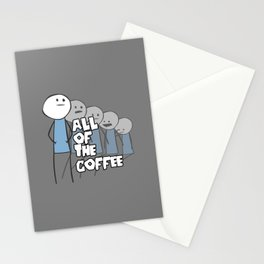 All of the Coffee Stationery Cards