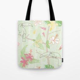 Tropical Spring Tote Bag
