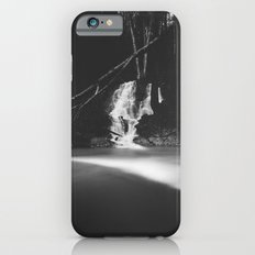 Minimalistic black and white waterfall iPhone 6s Slim Case
