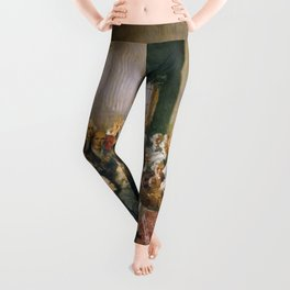 The Signing of the Constitution of the United States - Howard Chandler Christy Leggings