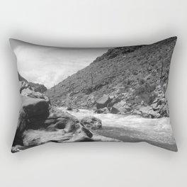 Arkansas River Rectangular Pillow