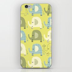 E is for Elephant iPhone & iPod Skin