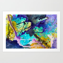Abstract Painting 81 Art Print