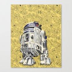 R2D2 from StarWars Canvas Print
