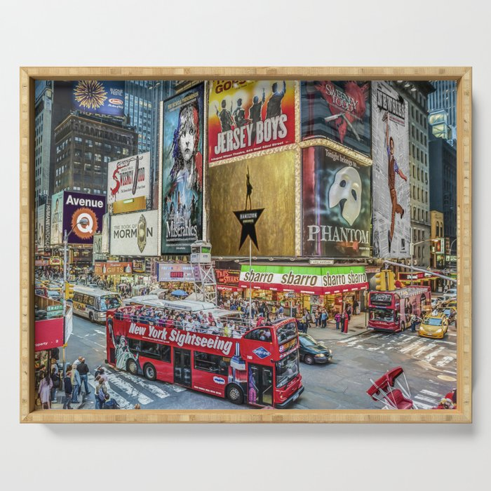Times Square II Special Edition I Serving Tray