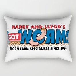 Harry & Lloyd's Rectangular Pillow