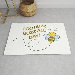 I go Buzz Buzz all day! Rug
