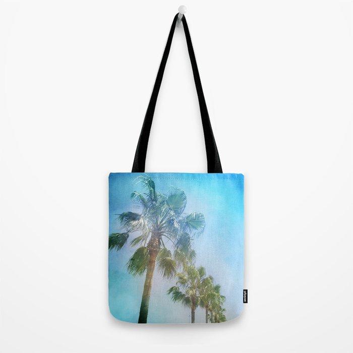 """Palms. Beach"" Tote Bag"