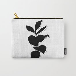 Plant silhouette line drawing - Evie layered Carry-All Pouch
