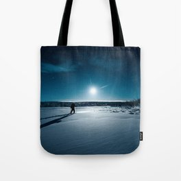 Guided by Moonlight Tote Bag