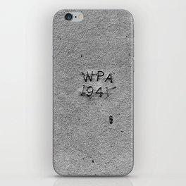 WPA 1941 iPhone Skin