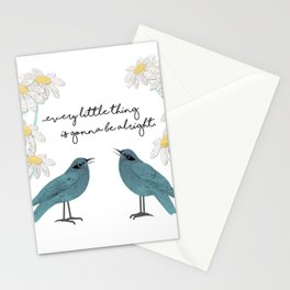 Three Little Birds, Part 2 Stationery Cards