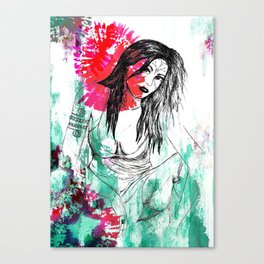 Tribal Beauty 5 Canvas Print