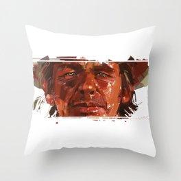 Charles Bronson a.k.a. Harmonica Throw Pillow