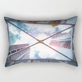 Looking up Sky Rectangular Pillow