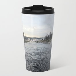 Yellowstone River Metal Travel Mug