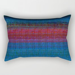 sunset at sea Rectangular Pillow