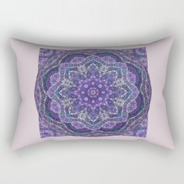 Batik Meditation  Rectangular Pillow
