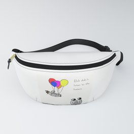 To be a Flying Penguin Fanny Pack