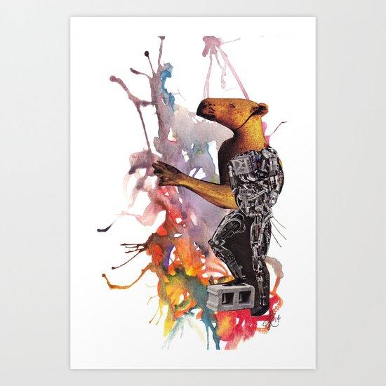 Darwin's Ark II Art Print