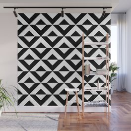 BLACK AN WHITE ONYX BY SUBGRL Wall Mural