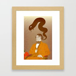 Franklin Pierce, Dybbuk puppet Framed Art Print