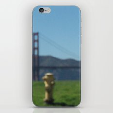 gazy bridge iPhone & iPod Skin