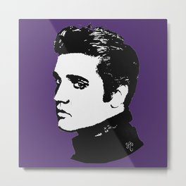 Royal Elvis Metal Print