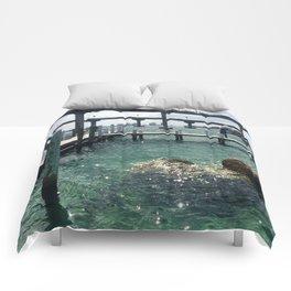 Dockin' at Sea Comforters