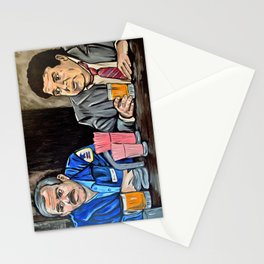 Cheers to Cliff and Norm Stationery Cards