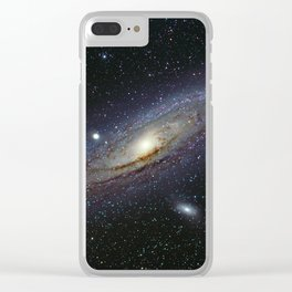 The Andromeda Galaxy Clear iPhone Case