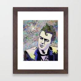 Joe Strummer Framed Art Print