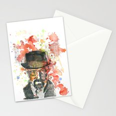 Walter White from Breaking Bad Stationery Cards