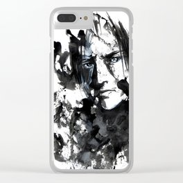 I've seen it all Clear iPhone Case