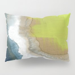 Surf Abstraction Pillow Sham