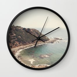 Peaceful Places, My Serenity. Wall Clock