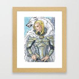 wolf & armour Framed Art Print