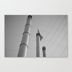 Stacks & Lines Canvas Print