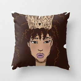 Almond Royal Throw Pillow