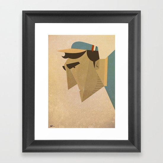 Adriano Framed Art Print